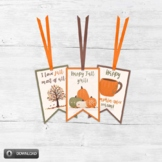 Printable Fall Gift Tags for Autumn Parties and Thanksgivi