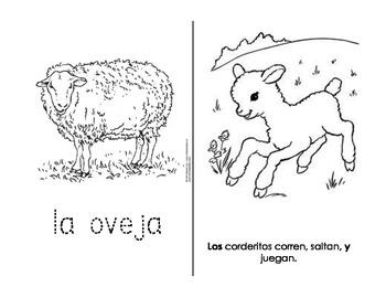 Printable Farm Book - SPANISH