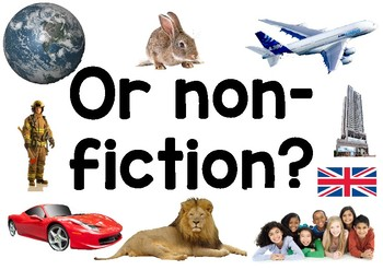Printable 'Fiction or Non-fiction' posters