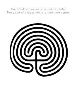 image about Finger Labyrinth Printable called Printable Finger Labyrinth - Established 2 - Free of charge PRINTABLE