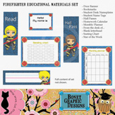Printable Firefighter Classroom Resources Set