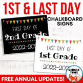 Printable First Day of School Signs, First Day of School 2