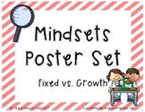 Printable: Fixed vs. Growth Mindsets Posters
