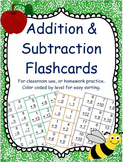 Printable Addition & Subtraction Flashcards (families 2-20's)