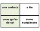 Printable Flashcards: La ropa (clothing Spanish) Avancemos