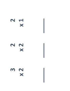 Printable Flashcards for Multiplication
