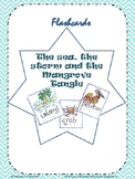 Printable Flashcards for core text- The Sea, the storm and