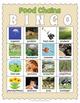Printable Food Chains Bingo Game