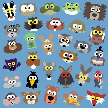 Printable Forest Animals Masks