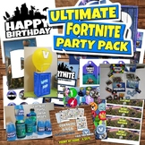 Printable Fortnite Battle Royale Birthday Party Decoration