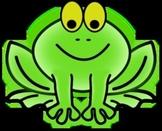 Printable Frog Dollars-Colored