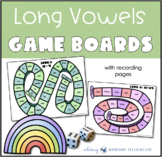 Printable Game Boards Word Work With Long Vowel Pairs Phonics Set 5