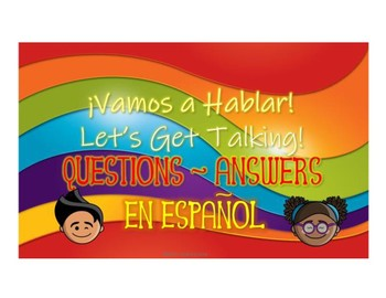 Printable Game for Conversations in Spanish