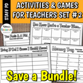 Printable Games for Teachers #2 No-Prep Activities Great f