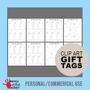 Printable Gift Tags for Decorating