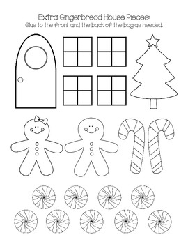 Printable Gingerbread House by Beavertales | Teachers Pay ...