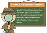 Printable Gr. 4-6 webquest ebook; Reproducible Workbook - school-wide license