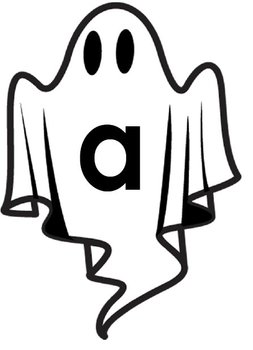Printable Grammar Assorted Activities - Ghostly Letters Upper & Lower Case
