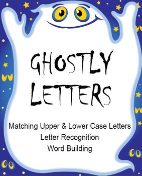 Printable Grammar Assorted Activities - Ghostly Letters Up