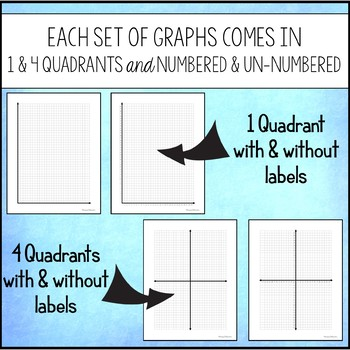printable graph paper graphs and coordinate grids