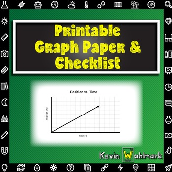 Printable Graph Paper and Checklist