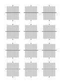 Printable Graph Paper and Coordinate Planes