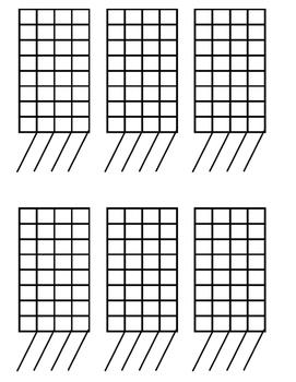 Printable Graphs - 6 per page