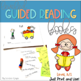 Printable Guided Reading Books - DRA Level 1/ F & P Level A