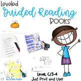 Guided Reading Books  DRA Level 3 and 4  F and P Level C