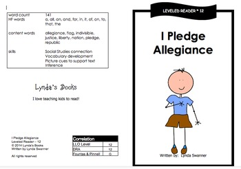 Printable Guided Reading Books- Level 12 DRA