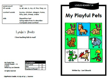 Printable Guided Reading Books- Level 14 DRA