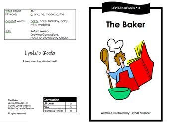 Printable Guided Reading Books- Level 3 DRA