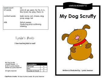 Printable Guided Reading Books- Level 4 DRA by Reading ...