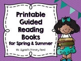 Guided Reading Books for Spring and Summer