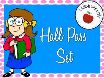 Printable Hall Passes-Intermediate Students