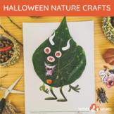Printable Halloween Craft   Halloween Nature Craft