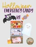 Printable Halloween Emergency Candy Kit Tags