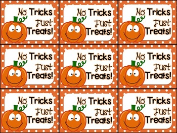 photo relating to Printable Halloween Tag referred to as Printable Halloween Reward Tag (No Secrets and techniques Simply Snacks)