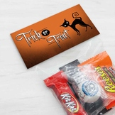 Printable Halloween Treat Bag Toppers, Halloween Party Favor-Candy Bag Toppers