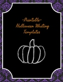 Printable Halloween Writing Pages