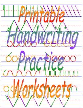 Printable Handwriting Practice Worksheets