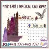 Printable Harry Potter Calendar