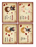 Printable Harry Potter Valentines Cards