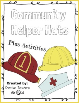 graphic relating to Printable Hats referred to as Hats, Hats, Hats! Printable Game - 5 Pack