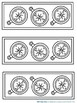 Bookmarks For Students to Color: Hiking