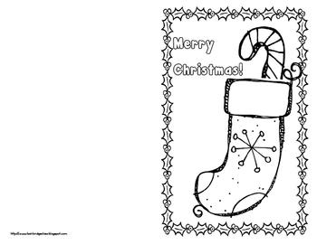 Printable Holiday Cards - Growing FREEBIE!