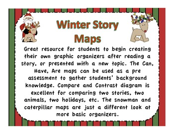 Printable Holiday Graphic Organizers