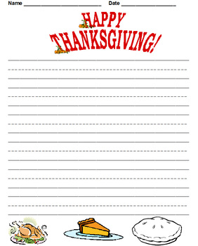 Printable Holiday Paper - 1st -2nd