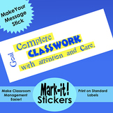 Free Printable Sticker for Classroom Management