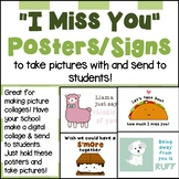 "Printable ""I Miss You"" Posters-Take Pictures with These Si"